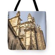 Cathedral Of Seville - Seville Spain Tote Bag
