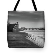 Central Pier Blackpool Tote Bag