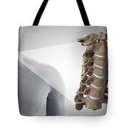 Cervical Vertebrae Tote Bag