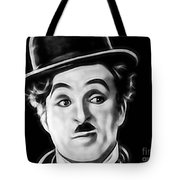 Charlie Chaplin Collection Tote Bag