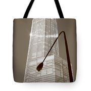 Chicago Skyscraper Tote Bag