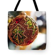 Christmas Tree Decorations Tote Bag