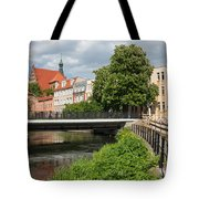 City Of Bydgoszcz In Poland Tote Bag