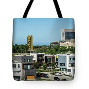 City Views Around California State Capitol Building In Sacrament Tote Bag