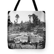 Civil War: Pontoon Bridge Tote Bag