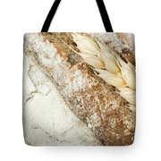 Close Up Bread And Wheat Cereal Crops Tote Bag by Deyan Georgiev