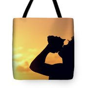 Conch Shell Blower Tote Bag