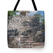 Conjunto Pinturas At The Coba Ruins  Tote Bag