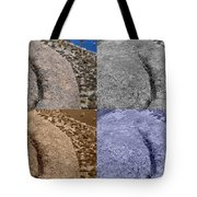 4 Crack Rocks New Mexico Tote Bag