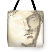 Drawing Of Ancient Sculpture Tote Bag