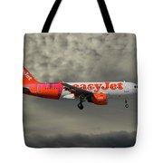 Easyjet Tartan Livery Airbus A319-111 Tote Bag