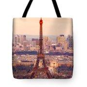 Eiffel Tower At Sunrise - Paris Tote Bag