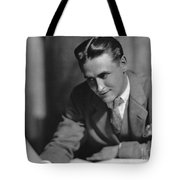 F. Scott Fitzgerald Tote Bag by Granger