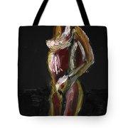 Fat Nude Woman  Tote Bag