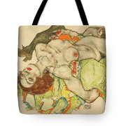 Female Lovers Tote Bag