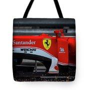 Ferrari Formula 1 Kimi Raikkonen Tote Bag