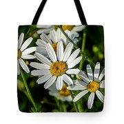 Flower Portrait Tote Bag