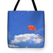 Flying Kite Festival  Tote Bag