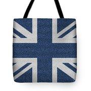Great Britain Denim Flag Tote Bag