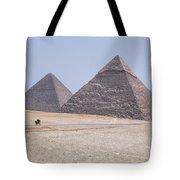 Great Pyramids Of Giza - Egypt Tote Bag