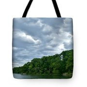 Green's Hill And The Bass River Tote Bag