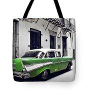 Havana, Cuba - Classic Car Tote Bag