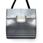 Heavens Gates Tote Bag