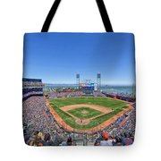 Home Of The San Francisco Giants Tote Bag