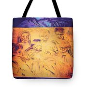 In Heaven With Jesus Tote Bag