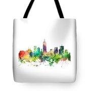Indiana Indianapolis Skyline Tote Bag