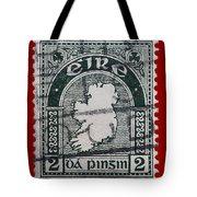 Irish Postage Stamp Tote Bag