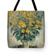 Jerusalem Artichoke Flowers Tote Bag