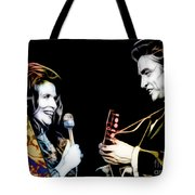 June Carter And Johnny Cash Collection Tote Bag