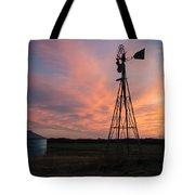 Kansas Sunset Tote Bag