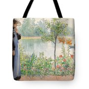 Karin By The Shore Tote Bag