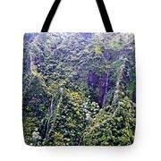 Kauai Water Fall Tote Bag
