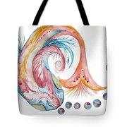 Koi Fish-watercolor Tote Bag