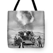 Korean War: Artillery Tote Bag