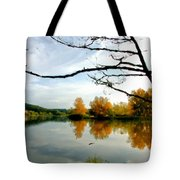 Landscape Oil Painting On Canvas Tote Bag