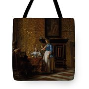 Leisure Time In An Elegant Setting Tote Bag
