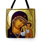 Madonna Religious Art Tote Bag