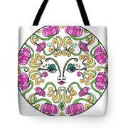 Lotus Princess Tote Bag