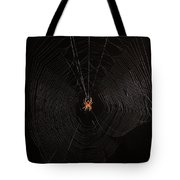 Marbled Orb Weaver Spider Tote Bag