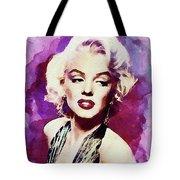 Marilyn Monroe, Actress And Model Tote Bag