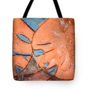 Mask - Tile Tote Bag