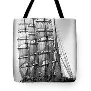 4-masted Schooner Tote Bag