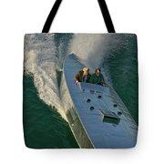 Mercury Race Boat Tote Bag