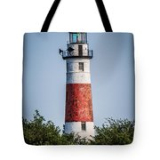 Middle Island Lighthouse Tote Bag