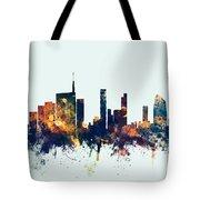 Milan Italy Skyline Tote Bag