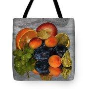 Multicolor Fruits Tote Bag